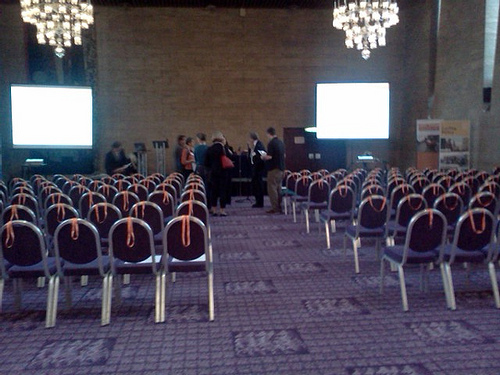 Before the conference - last touches
