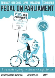 Pedal on Parliament 2013 poster