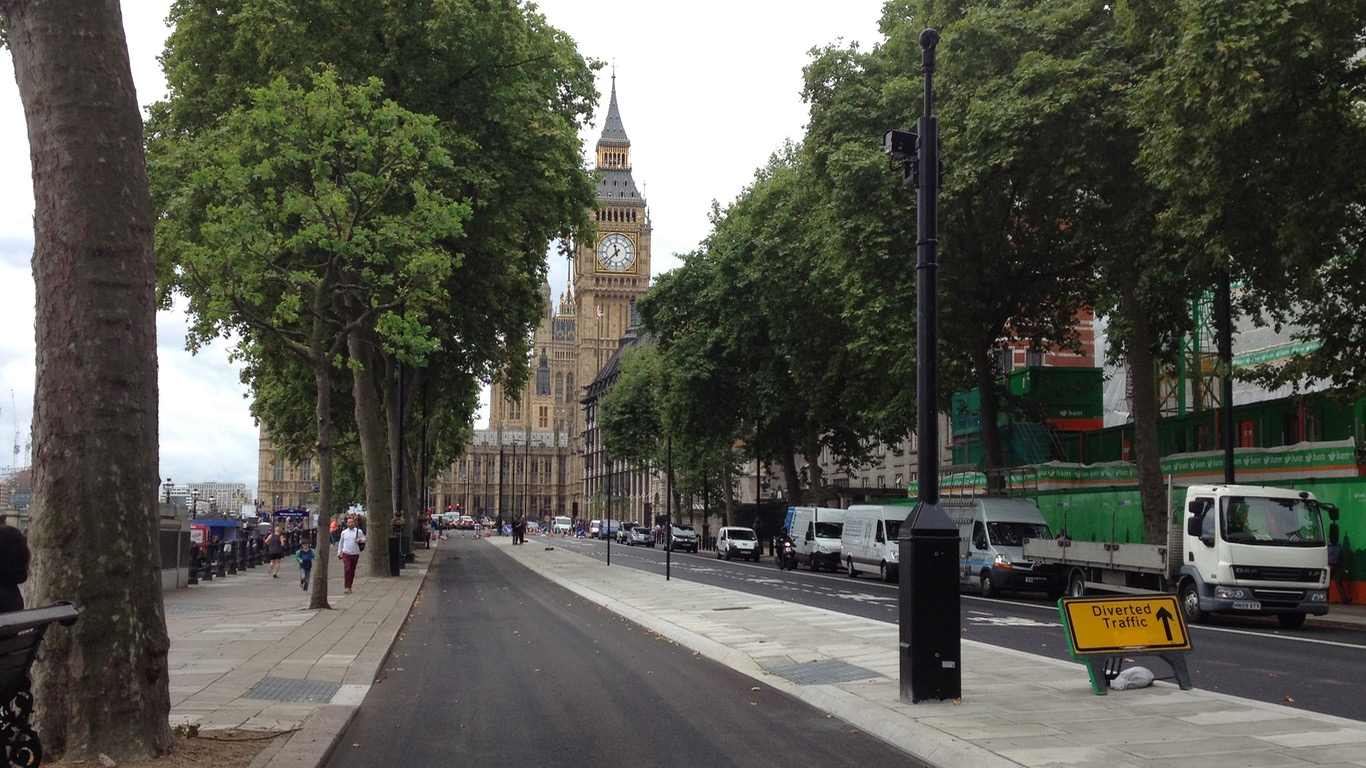 Superhighway Embankment London