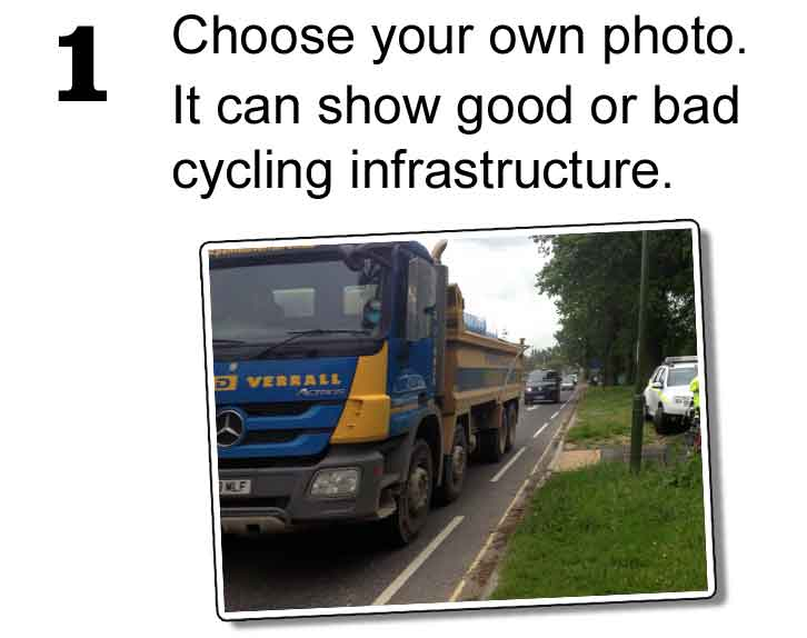 1: Choose your own photo