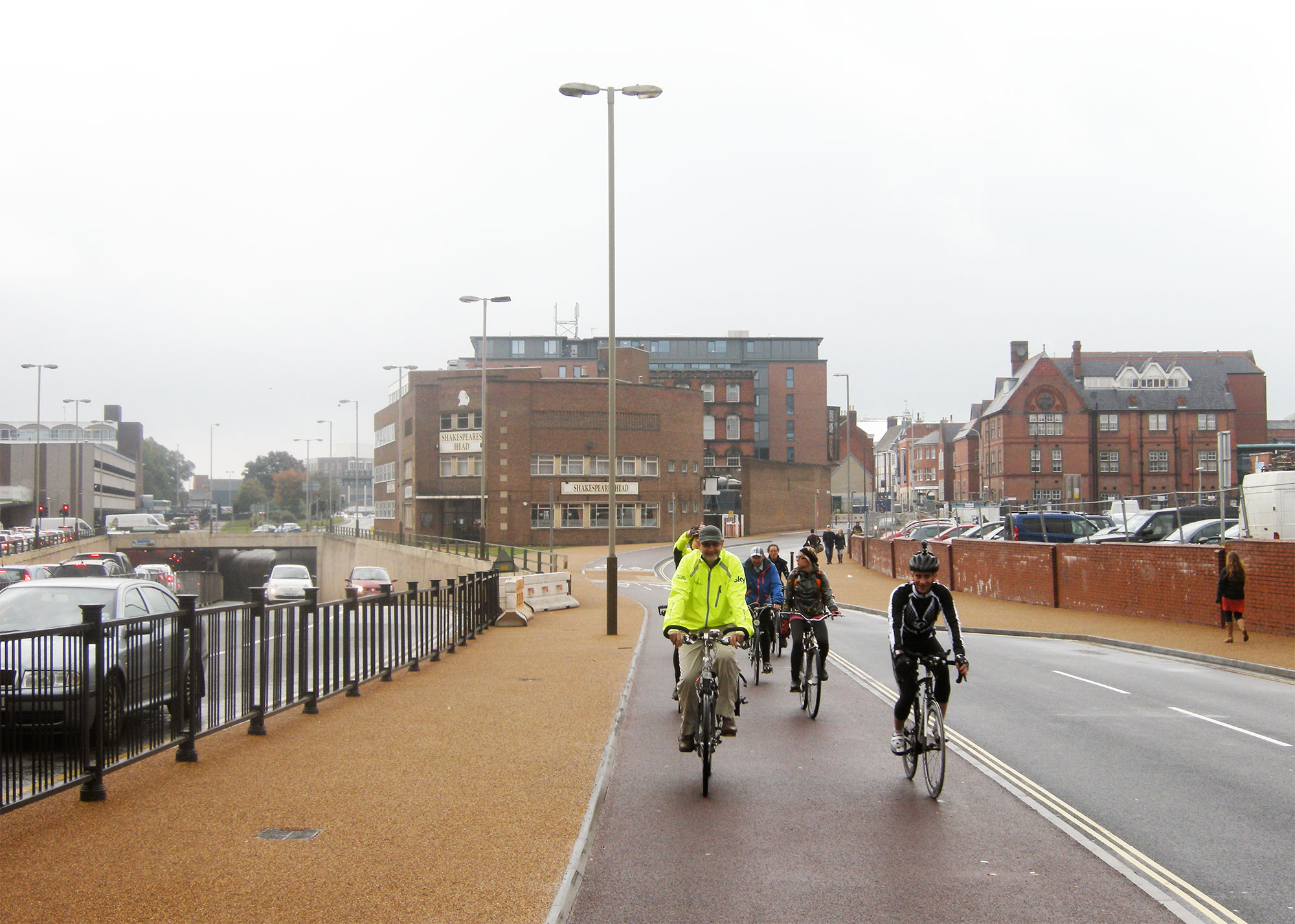 Cycle path Leicester