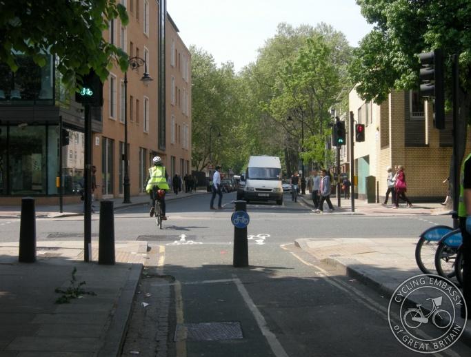 Ampton Street Cycle Green