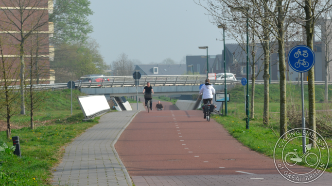 Cycle path Veenendaal