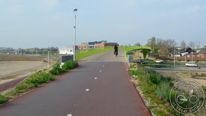 Little Green One Bridge Lent Nijmegen