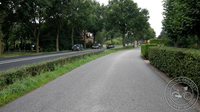 Service road Utrecht