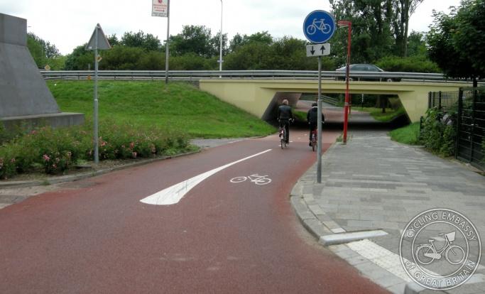 Bicycle underpass Utrecht