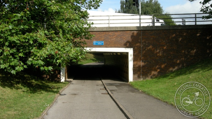 Bracknell Cycling Walking Underpass