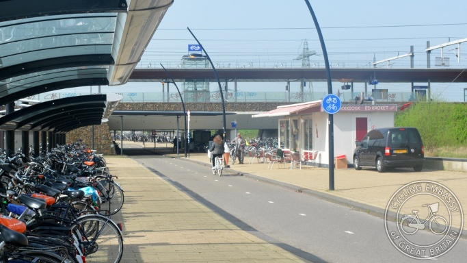 Cycle rail interchange Breukelen