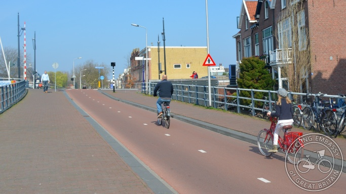Cycle-only route, Delft