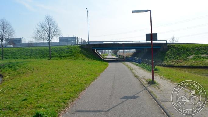 Cycle underpass Zoetermeer