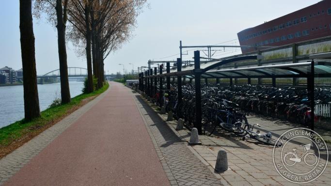Cycle street Maarssen Utrecht