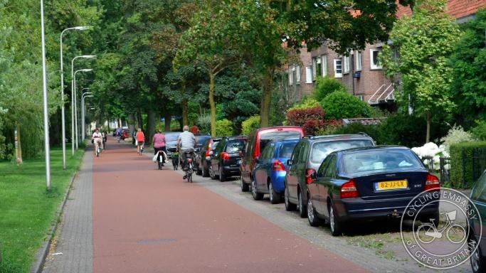 Cycle street Zwolle Fietsstraat