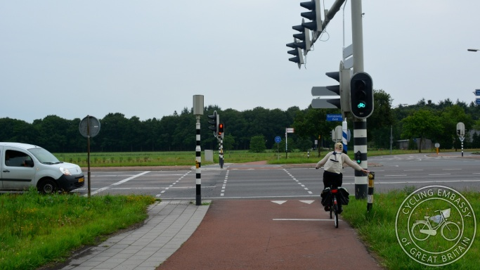 Signal controlled crossing Assen