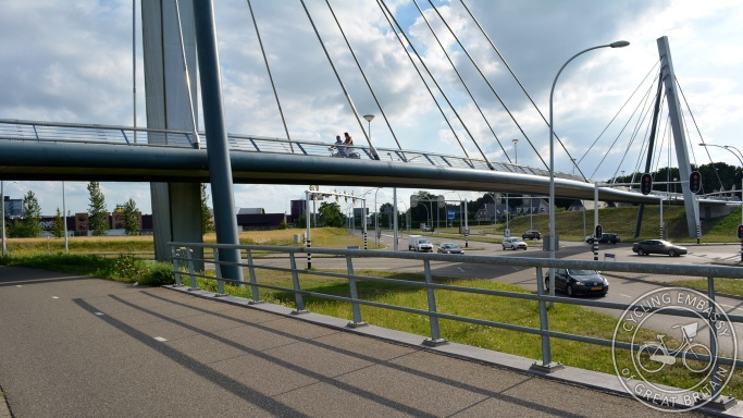 Cycle bridge Zwolle