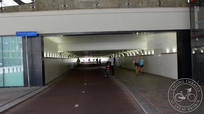 Provenierstunnel Rotterdam Centraal