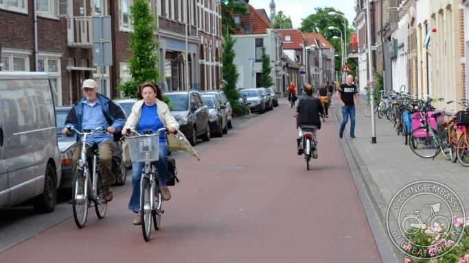 Cycle street Fietsstraat Zwolle