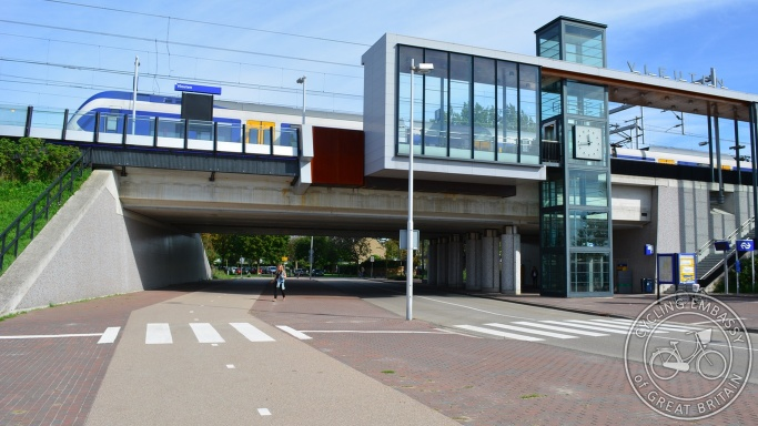 Vleuten railway station cycleway underpass