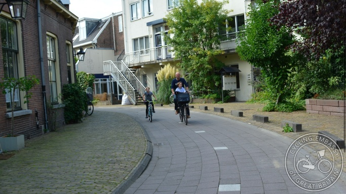 Cycle-only street Utrecht Wolvenplein