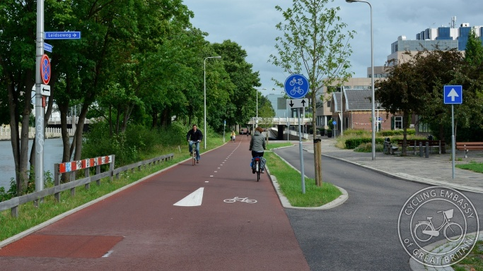 Kanalweg Utrecht cycle path