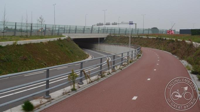 Cycle underpass Naaldwijk