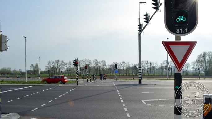 Signal-controlled crossing Nijmegen