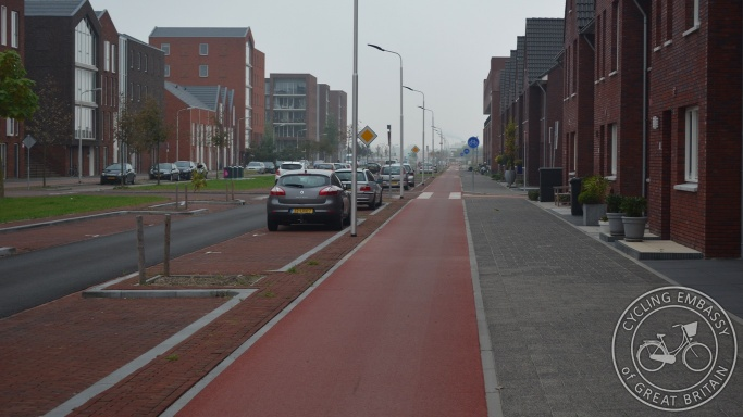 Cycleway Delft NL