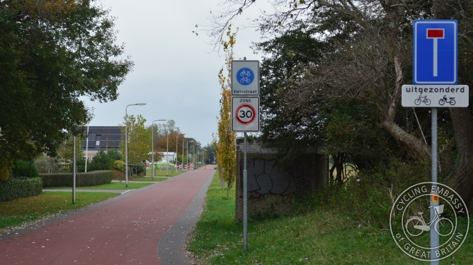 Cycle Street 's-Gravenzande Netherlands