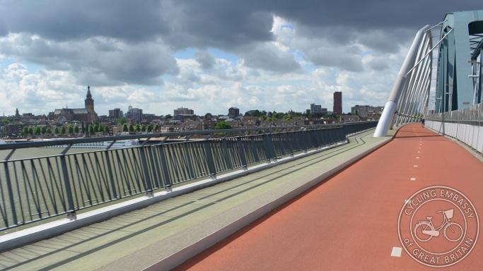 Snelbinder bridge Nijmegen NL