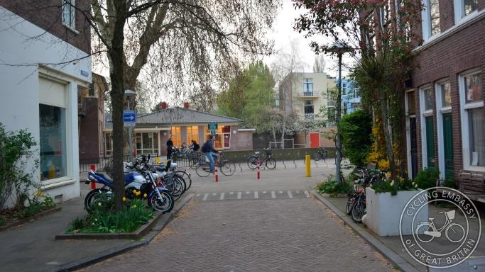 Cycle-only street, Tulpstraat, Utrecht