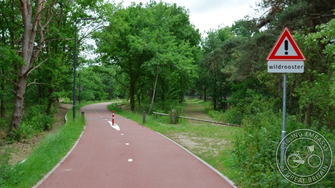 F59 Fast Cycle Route, Fietssnelroute, Rosmalen, NL