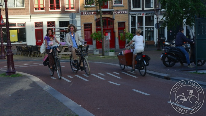Cyclepath, Haarlemmerplein, Amsterdam