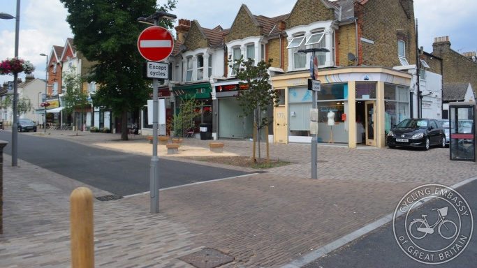 Francis Road, Mini Holland, Waltham Forest