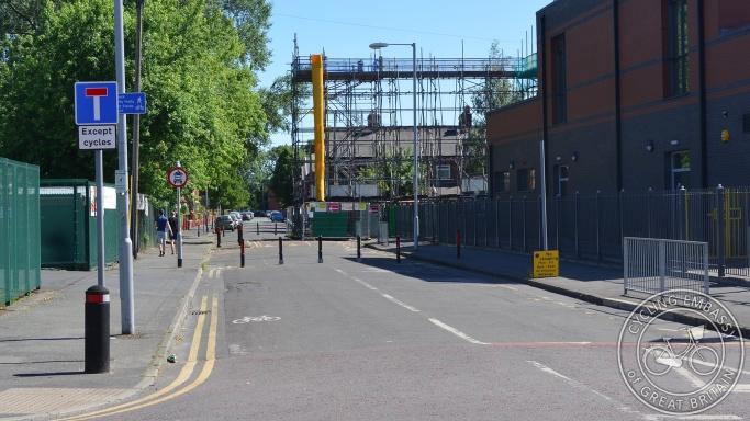Filtered street, Heald Place, Manchester
