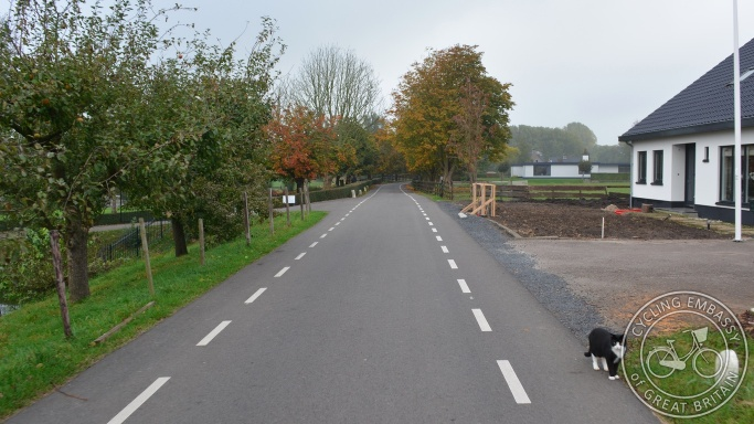 Quiet country road, Montfoort, NL
