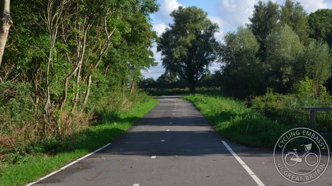 Cycle path, De Lier, The Netherlands