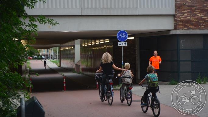 Railway underpass, Utrecht