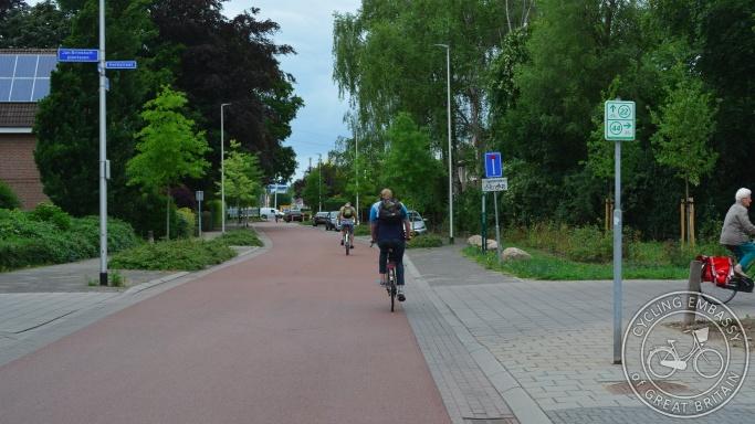 Cycle street, Nijmegen