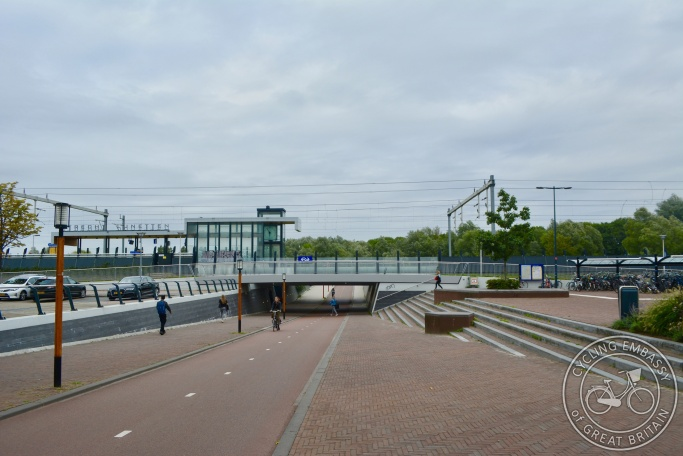 Cycling and walking underpass, Lunetten Station, NL