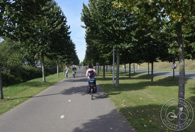 Cycle path, Leidsche Rijn, Utrecht