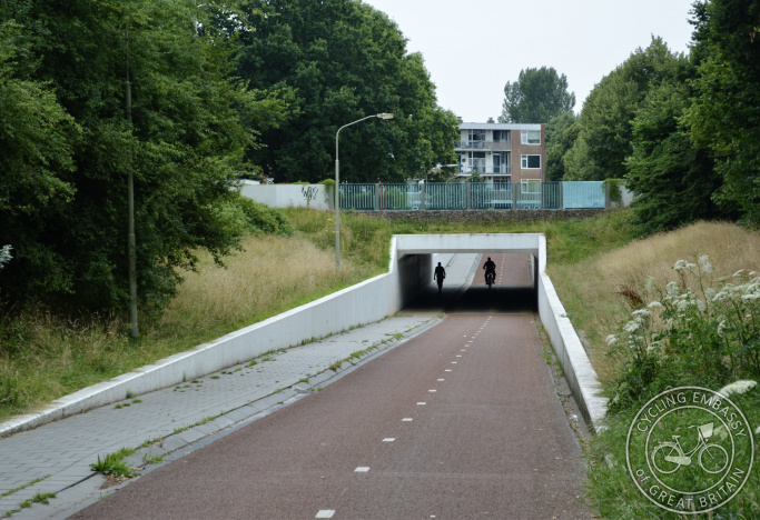 Cycling and walking underpass, Assen, The Netherlands