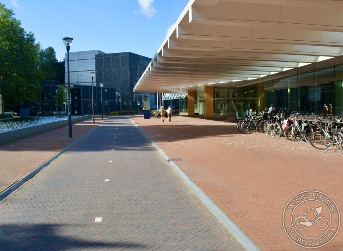 Cycle-only street, Amersfoort, The Netherlands