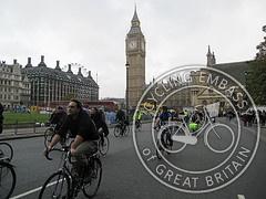 Tour Du Danger at Parliament Square by Mark Ames (cc by-nc-sa)