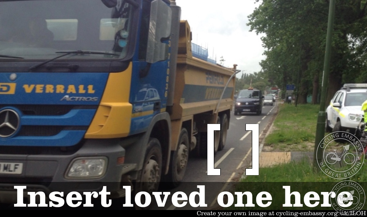 Insert Loved One Here - Parsonage Road, Horsham