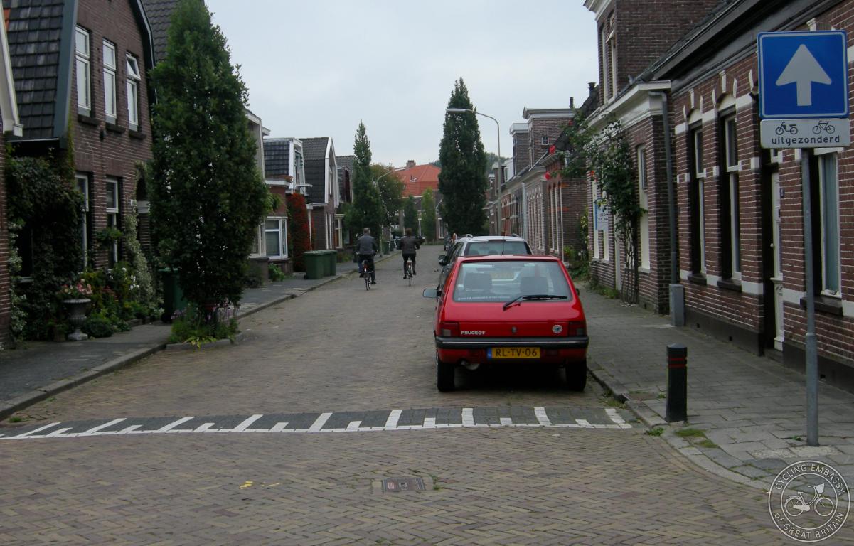 Residential street, Assen