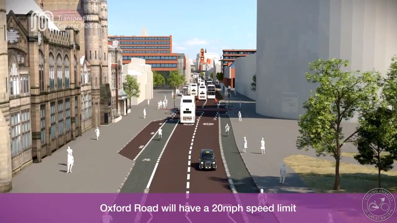 Loading bay Oxford Road