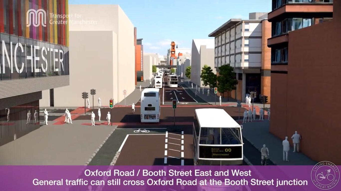 Major junction Oxford Road