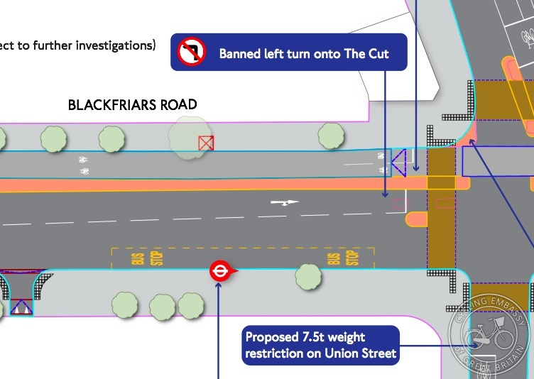 Blackfriars Road Superhighway