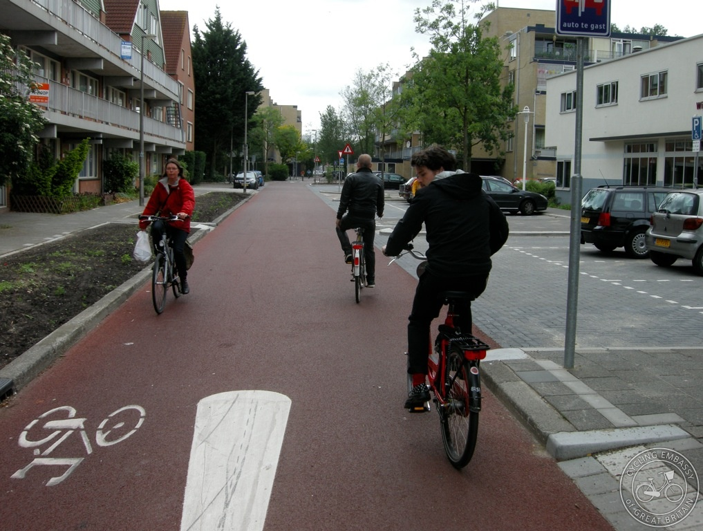 Cycle street Utrecht