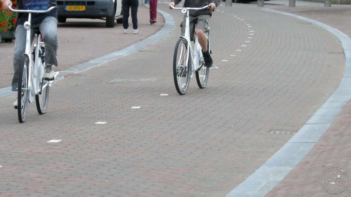 Vondelpark cycle path