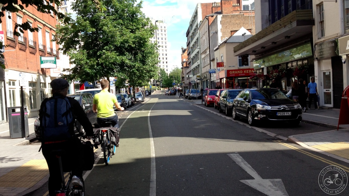 Granby Street opposed one-way flow